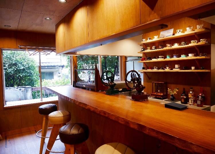 精心設計的店面角落 復古風情讓人陶醉於舊時代的美好