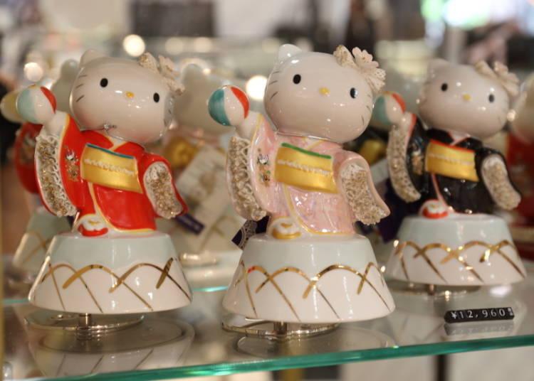 Hello Kitty Kemari Music Box: Hello Kitty Dances to Japanese Music! (12,000 Yen)