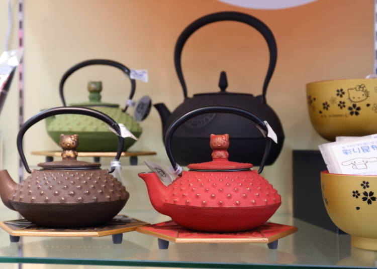 Hello Kitty Nanbutetsu Kettle: Traditional Craft Meets Modern Icon (5,800 Yen)