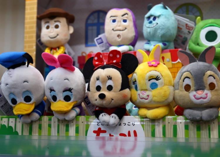 """No. 4: The perfect stuffed toy! """"Disney Character Chokkorisan"""""""