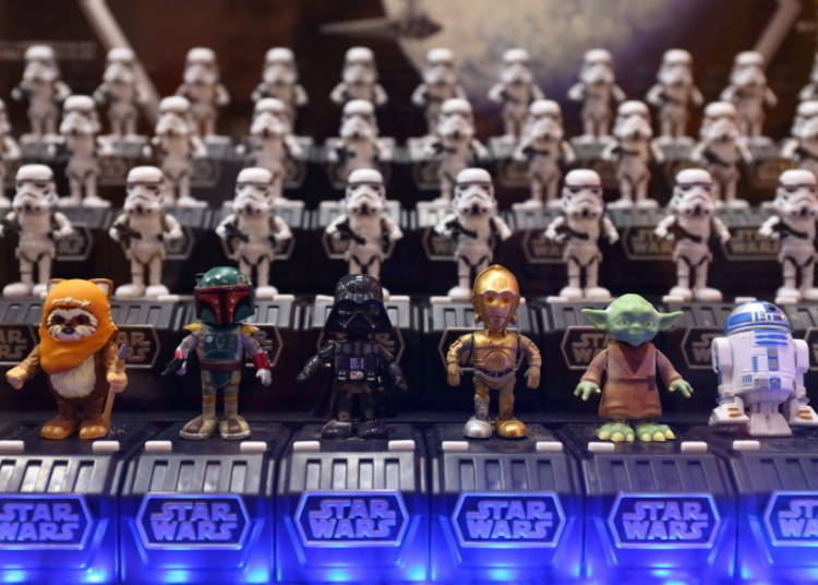 "No. 5: May the Force be with you! ""Star Wars Space Opera"" characters"