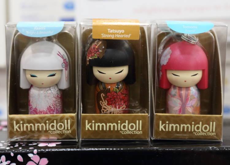 9. 일본의 코케시(목각인형)가 현대풍으로 재탄생한 키미돌(kimmidoll) 키홀더