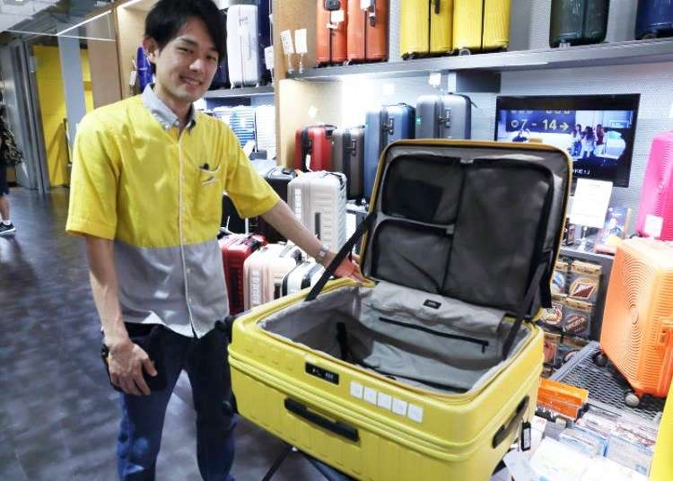 Japanese Suitcases Are Such Good Quality! 6 Awesome Japanese Suitcases at Shibuya Loft! | LIVE JAPAN travel guide