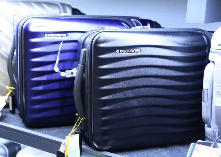實現超強靜音效果的高機能登機箱「ENDO―行李箱 FREQUENTER CLAM ADVANCE」