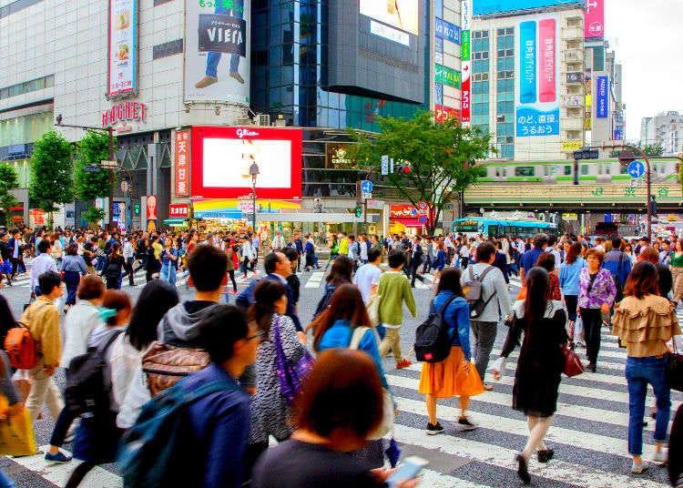 東京澀谷必訪景點-澀谷十字路口!除了拍照還有這些有趣小祕密!