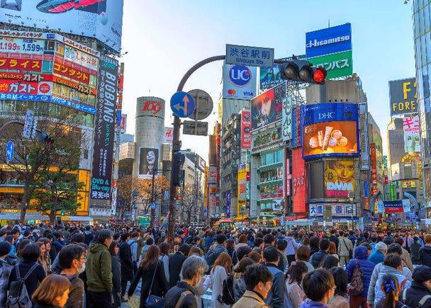 秘密3〉一天有這麼多萬人通過澀谷的全向十字路口啦!