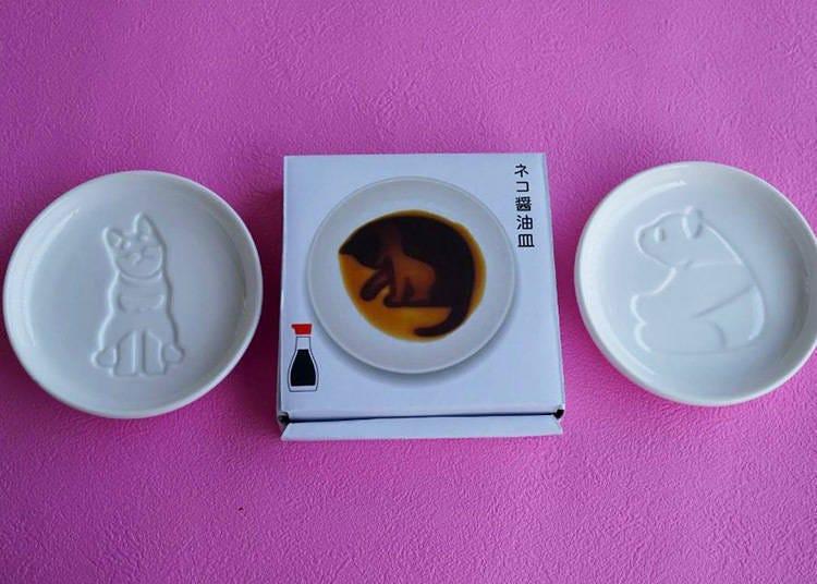 加入醬油後動物圖案漸漸浮現!療癒可愛醬油碟