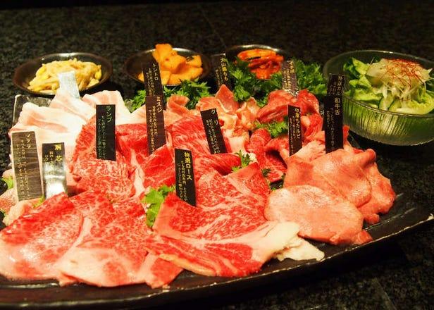 超高CP值!「燒肉・炙屋武藏」銀座頂級A5黑毛和牛燒肉吃到飽