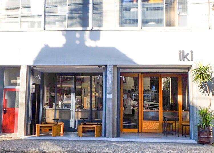 New Zealand Breakfast in Tokyo: iki ESPRESSO TOKYO