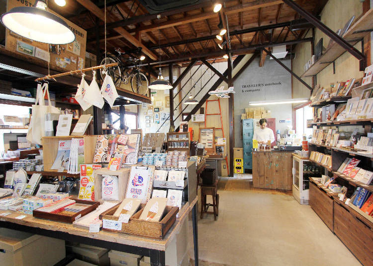Stationery & Coffee at Your Leisure: TRAVELER'S FACTORY