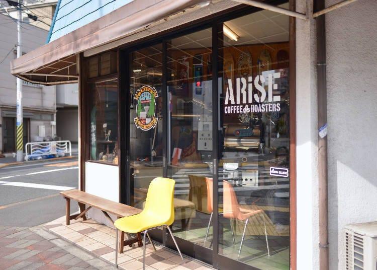 「ARiSE COFFEE ROASTERS」超有個性的咖啡店中竟有著當地人最愛喝的手沖咖啡