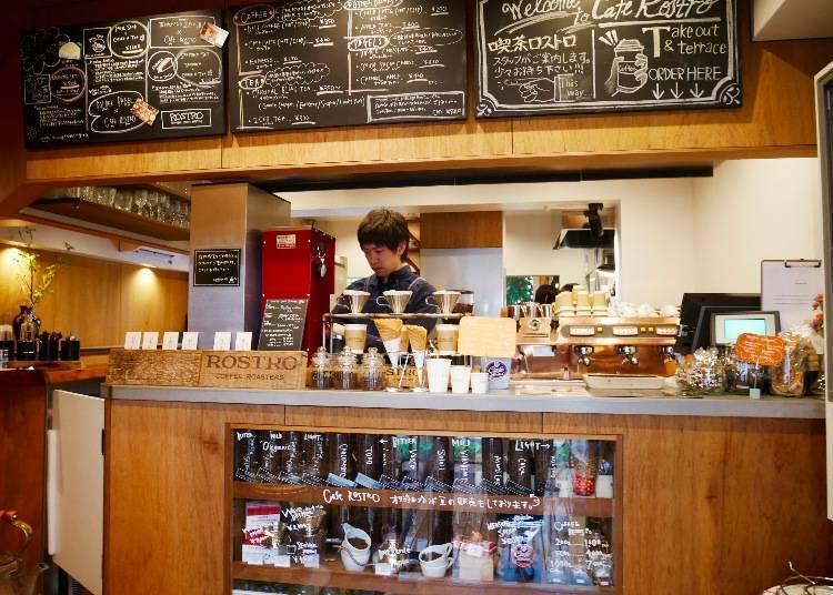 「CAFE ROSTRO」職人咖啡師專為你調製的獨家好咖啡