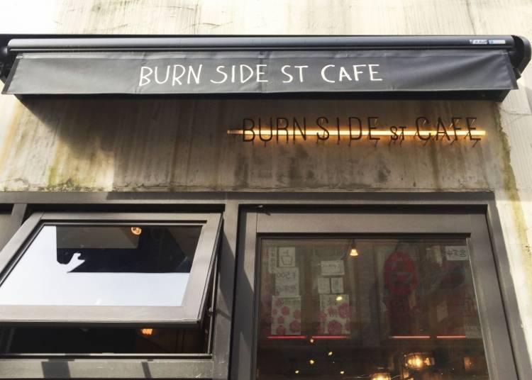 Thick, Healthy Soufflé Pancakes at BURN SIDE ST CAFE Harajuku