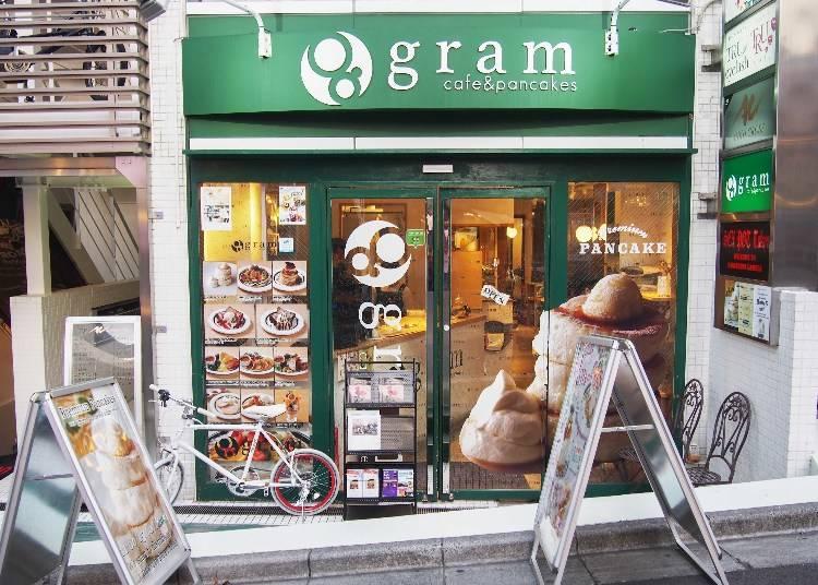 大阪發祥,柔軟三層鬆餅塔震撼你的視覺和味蕾「gram原宿店」