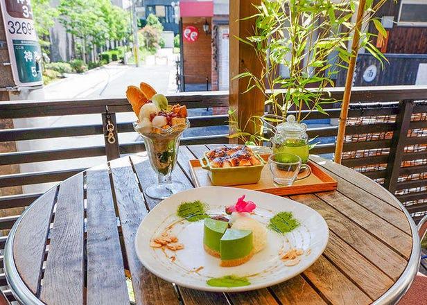 도쿄 맛집 - 일본의 전통차와 일본풍 디저트 카페에 가보다!
