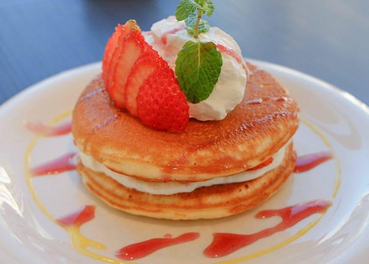 7. Daikanyama Pancake Cafe Clover's: An Interesting Twist in the Recipe