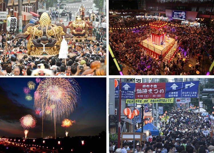 日本夏日最受期待的盛事 歡樂祭典接力登場!