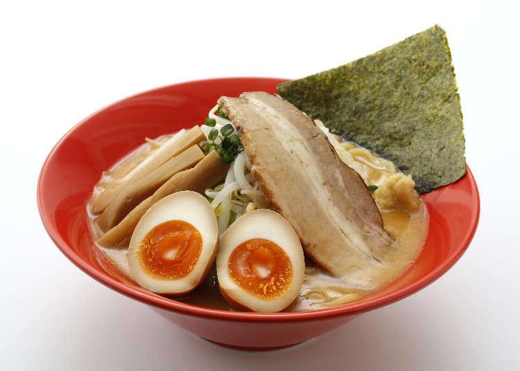 삿포로 라멘과 함께 홋카이도 3대 라멘으로 꼽히는 아사히카와 라멘을 도쿄 우에노에서 맛보다!