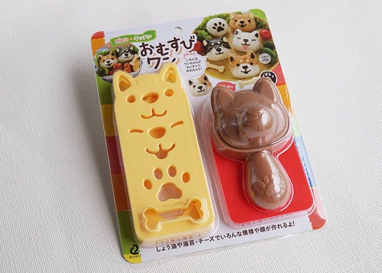표정이 다채로운 강아지 주먹밥을 만들 수 있는 「오무스비왕」
