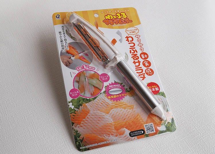 網狀沙拉刨刀(わっふるサラダピーラー)