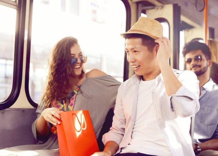 1:バスがとっても安全なので、安心して乗れる!