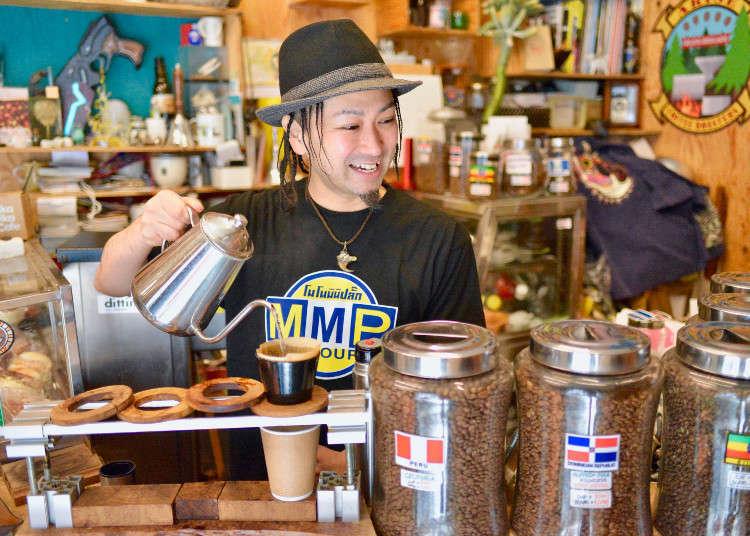 Where to get good coffee in Tokyo? Top 3 Chill Cafes in Tokyo's Coffee Town, Kiyosumi Shirakawa!