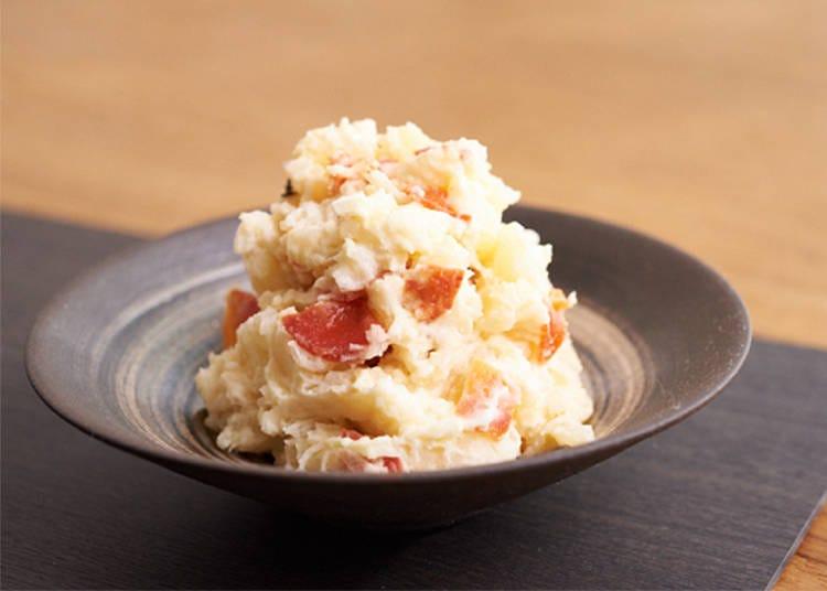 2. Side: Japanese Oden-style Potato Salad