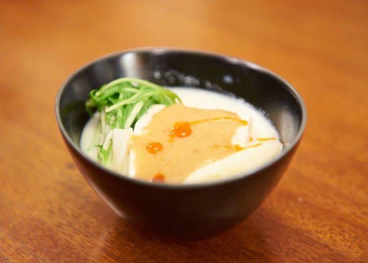 3. Yudōfu, Japanese Boiled Tofu