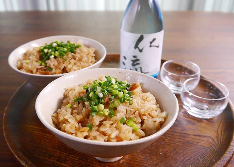 6. Ikameshi, Rice with Squid