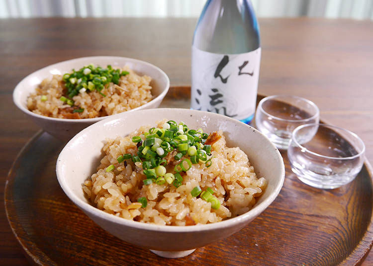 6. Ikameshi, Rice with Squid
