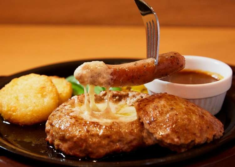 """Japan's """"Cheese-In"""" Fondue-Style Hamburg Steak will Leave You in Food Coma Paradise!"""