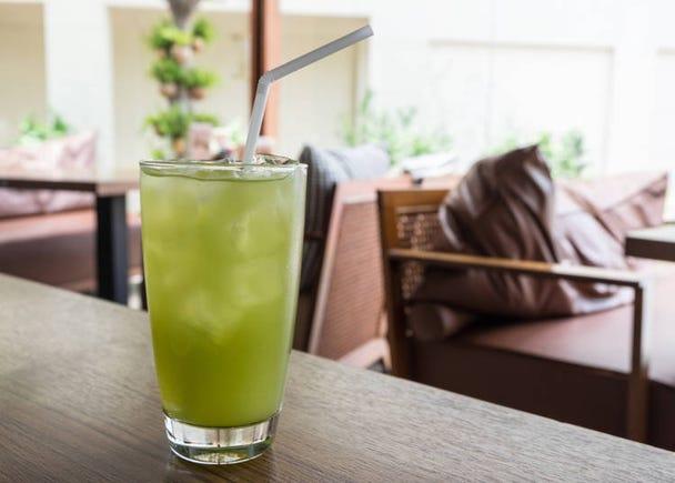 日本の「Green tea」ラブ!常備しています