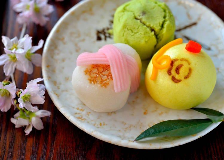 甘くて種類が豊富。日本のスイーツは素晴らしい!