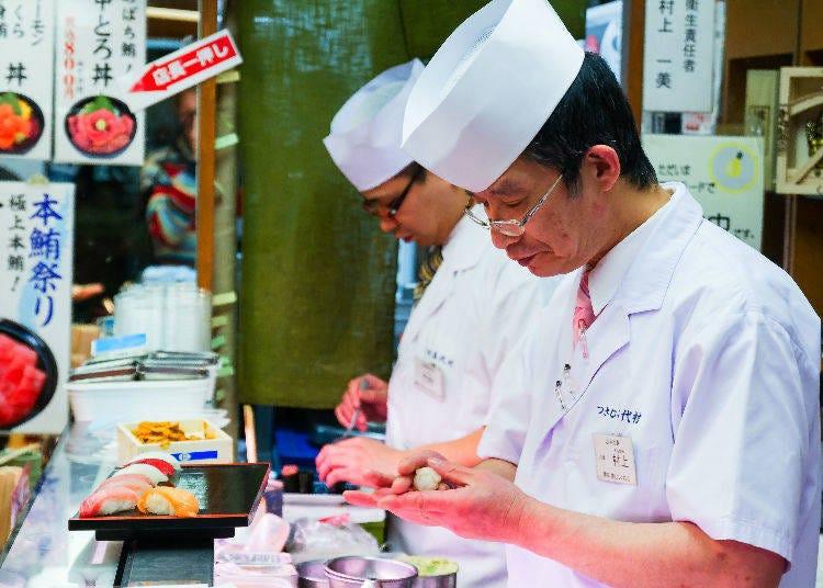 日本不只有握壽司!各式各樣的壽司種類