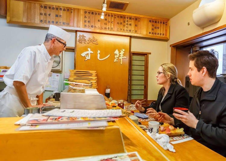 壽司吃法【店鋪類型篇】:高級感滿載的吧檯壽司