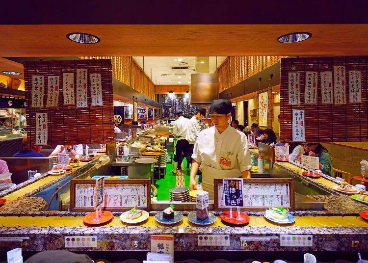 正確的壽司吃法:吃的順序有關係嗎?