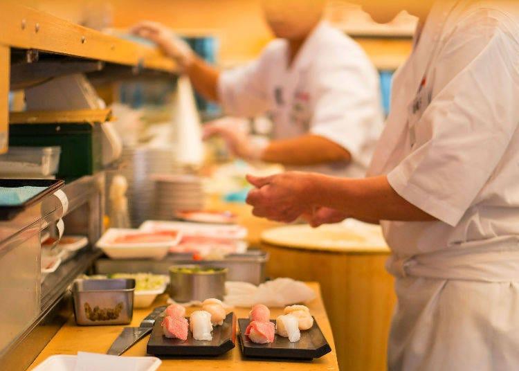 壽司店點餐實用例句