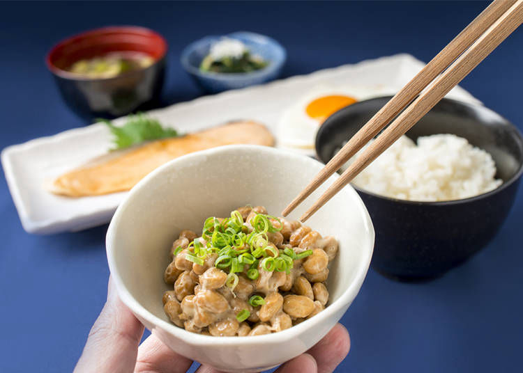 Natto beans and Japanese culture