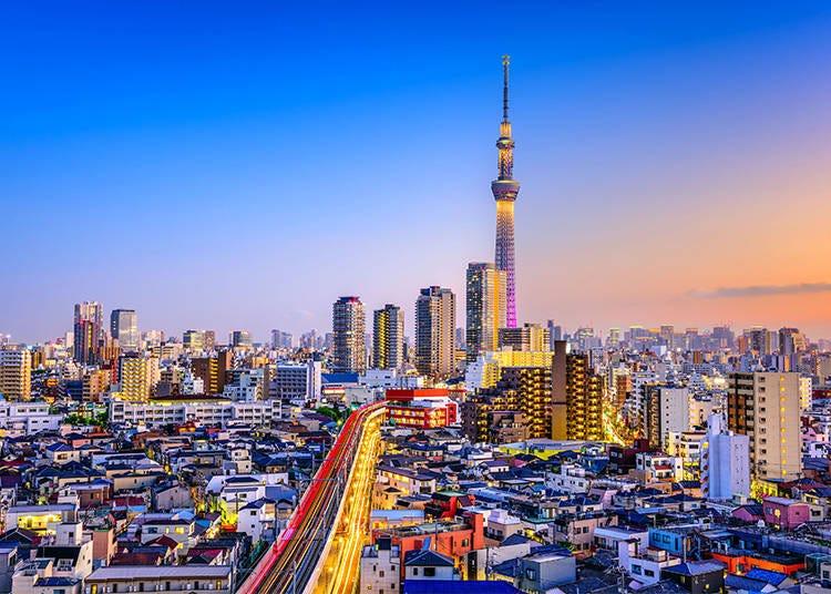 Trivia #4 – Tokyo Skytree's Elevators Represent the Four Seasons