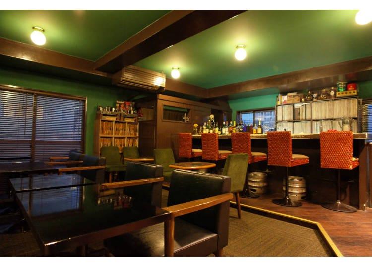 ■昔ながらの日本独自の「ジャズ喫茶」文化を楽しめる、「渋谷SWING」