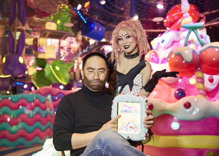 If the real Steve Jobs came back to life, Japanese comedian RG Jobs would introduce him to... KAWAII MONSTER CAFE