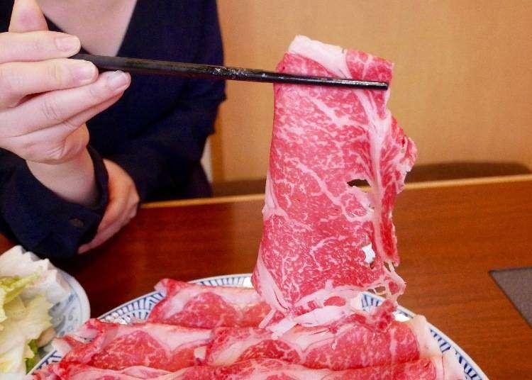 도쿄 우에노 맛집 - 하치노키는 적당한 가격대와 질 좋은 고기가 무한리필! 우에노 샤브샤브 맛집!