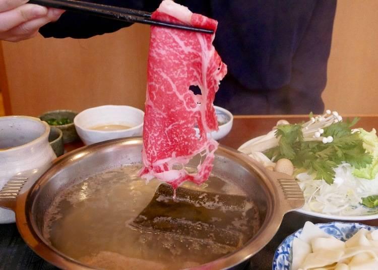 Find The Delicious Secret to High-Grade Japanese Shabu-shabu in Ueno!