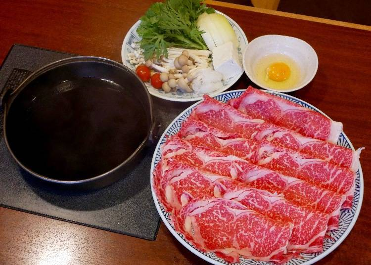 A Delicious Sukiyaki Lunch at Great Price