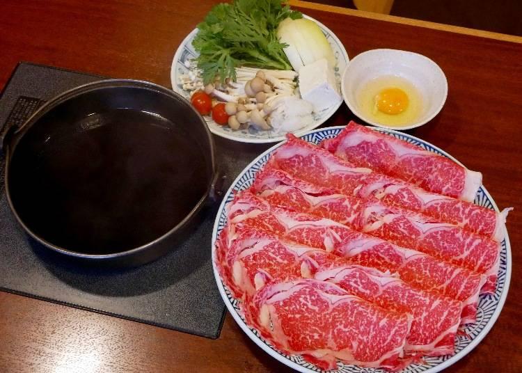 超划算午間套餐霜降牛肉壽喜燒鍋