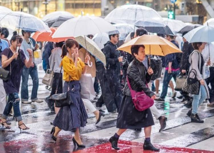 東京的梅雨季是什麼時候?