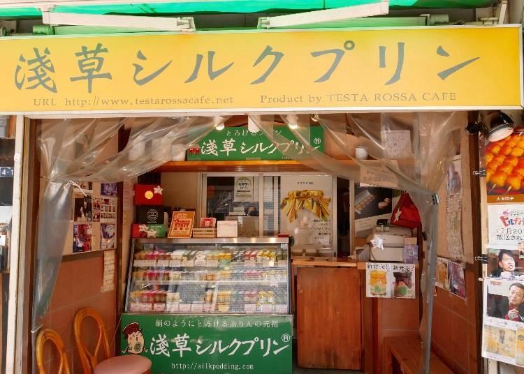 Asakusa Silk Pudding: Recent Hit in Japanese Media!