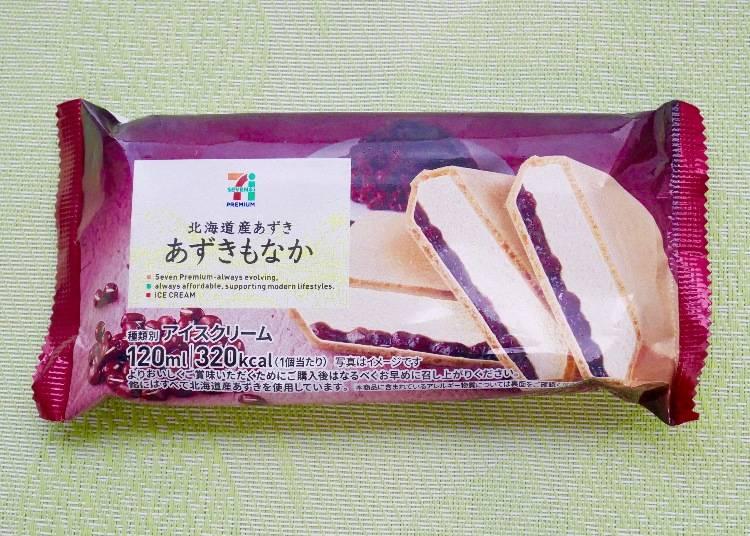 7-11 北海道紅豆最中冰淇淋