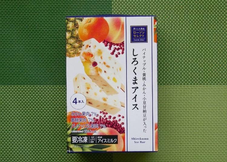 Lawson 白熊紅豆水果煉乳冰