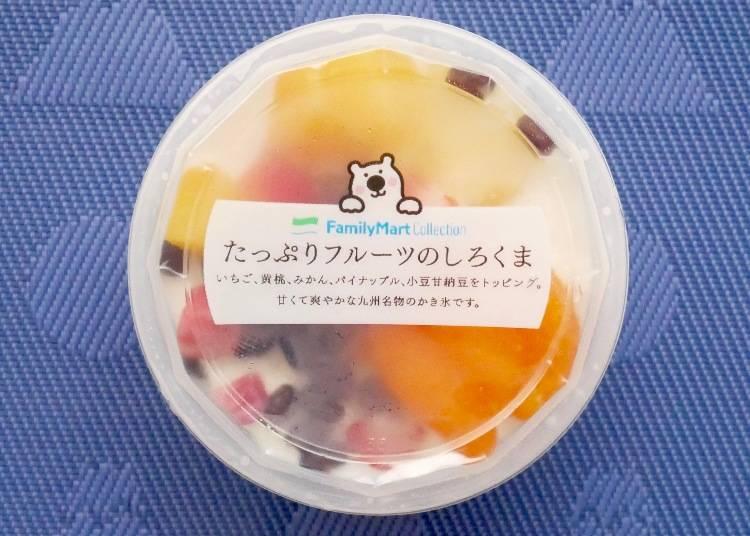 FamilyMart 雙倍水果白熊煉乳冰